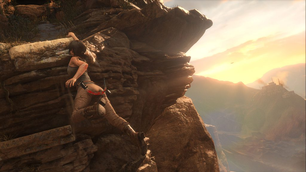 Like its predecessor, Rise of the Tomb Raider places you in an expansive world filled with enemy soldiers. This isn't a sandbox, though--subsequent areas are gated by ability unlocks.